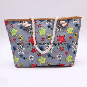 Five - Pointed Star Straw Large Buckle Bag pictures & photos