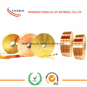 Pure Copper Strip/Tape/Foil/Coil/Flat Wire/Wire 0.6mm*75mm pictures & photos