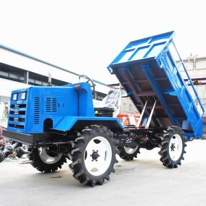 Mini Crawler Type Diesel Engine Transporter