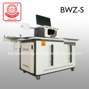 Bwz-S LED Sign Moves Channel Letter Bending Machine pictures & photos