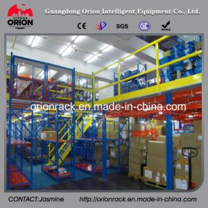 Mezzanine Floor Racking with Pallet Racking Shelving pictures & photos