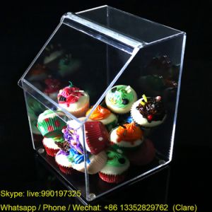 Clear Plastic Acrylic Candy Box for Store pictures & photos