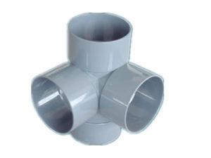 PVC Plastic Fitting Mould Four Cross Way (HJ-MODEL-011)