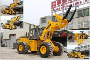 Forklift Wheel Loader Marble/Granite Block Handler Machine pictures & photos