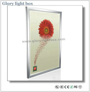 Wall-Mounted or Hanging Aluminum Frame Slim LED Advertising Light Box pictures & photos