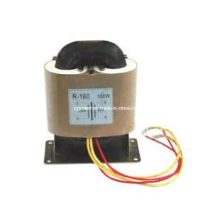 R-Type Single-Phase Power Switching Transformer, Low Magnetic Leakage and Low Profile (XP-PT-R160) pictures & photos
