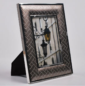 Classic Black PU Leather Business Gift Frame (WF-047) pictures & photos