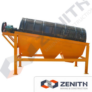 Zenioth Large Capacity Gold Trommel Drum Screen Machine pictures & photos