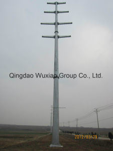 Monopole Power Transmission Steel Tower pictures & photos
