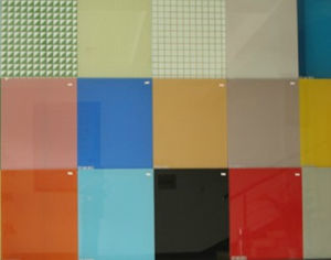Surpised Priced Colored Glass for Household Wall pictures & photos