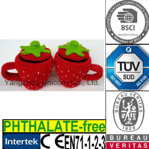 Strawberry Teapot Cozy Cup Sleeve