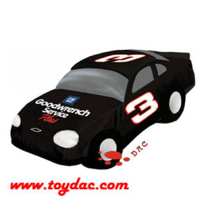 Plush Lifelike Race Car Toy