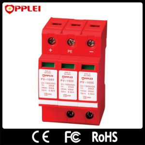 Solar PV System Lightning Protection Solution 1000VDC Surge Protector pictures & photos