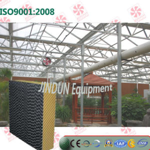 Customized Black-Coated Washable Cooling Pad for Greenhouse