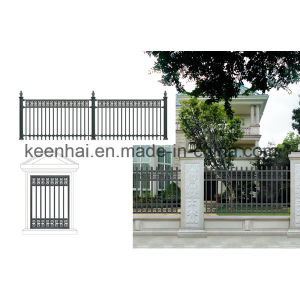 Decorative Modern Design Metal Cast Aluminum Villa Garden Fence pictures & photos