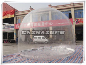 PVC Clear Inflatable Dome Tent Single Skin for Rental Business pictures & photos