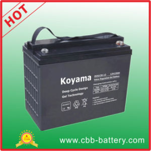 Deep Cycle Gel Battery 135ah 12V Marine Battery pictures & photos