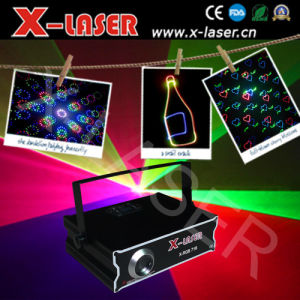 500mw RGB Full Color Animation Laser Light with SD+Animation Fireworks+Beam pictures & photos