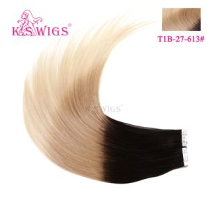 New Arrival 3 Tones Ombre Color Tape on Remy Hair Extensions pictures & photos