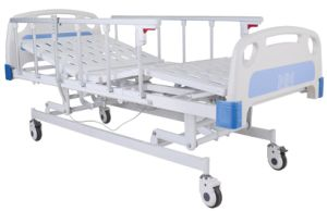 High Quality Hospital Use Three Functions Electric Care Bed/Medical Bed/ Hospital Bed (SK-EB108) pictures & photos