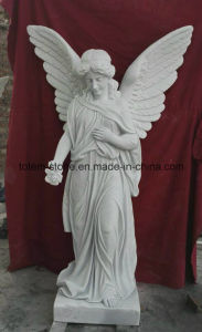 Chinese Granite Marble Tombstone Monument (angel and hearts) pictures & photos