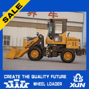 Mini Front End Compact Loader Zl10 with Quick Hitch and Tow Bar pictures & photos