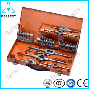 42PCS Tap and Die Set with Twist Drill Bit pictures & photos
