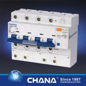 Electronic Type 100A 4p RCCB with Overcurrent Protection pictures & photos