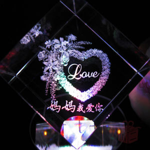Machine with Photoshop Software Laser Engraving Machine Crystal Glass pictures & photos