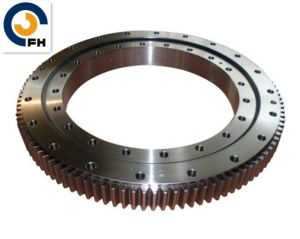 Slewing Gear Ring Used on Snowplow Machine pictures & photos