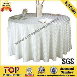 Luxury Banquet Hall Table Cloth pictures & photos