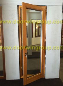 Solid Wood Aluminium French Door, Wood Aluminum Door From Chinese Professional Wood Aluminum French Door Designer pictures & photos