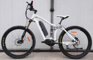 Full Suspension Mountain Electric Bike with 26′ Tire pictures & photos