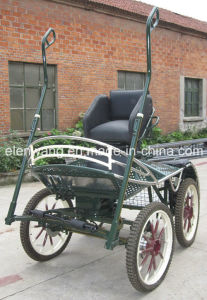 Horse Cart with Single Seat (GW-HC037-13#) pictures & photos