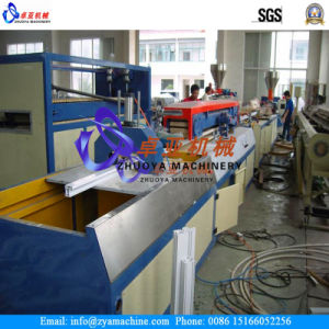 Zysj65/132 PVC WPC Corner Bead Profile Extrusion Machine pictures & photos