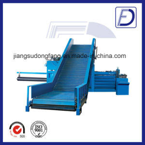 Hydraulic Plastic Bottles Aluminum Cans Baler Recycling Machine pictures & photos