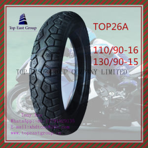 Tubeless, ISO Nylon 6pr Motorcycle Tyre 110/90-16, 130/90-15 pictures & photos
