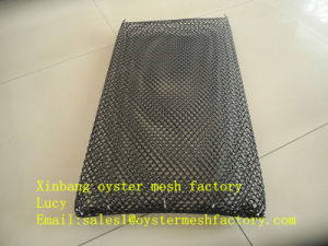 Plastic Oyster Mesh, Black Oyster Mesh Bag (China FACTORY) pictures & photos