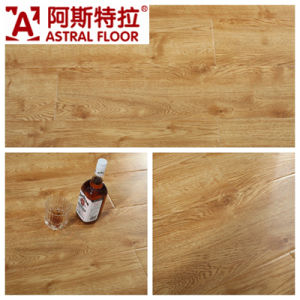 German Technical Mirror Surface (u-groove) Laminate Flooring (AS1033) pictures & photos