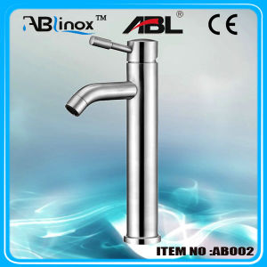 Stainless Steel Bathroom Basin Faucet (AB002)