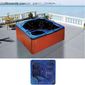 Square Above Ground Pool Chinese Hot Tub Jacuzzi Prices