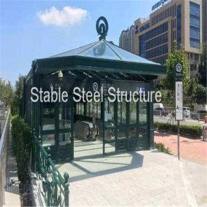 Steel Structure Passage to Metro, Underground Garage pictures & photos