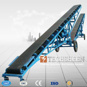 Portable Belt Conveyor with ISO Inclined Belt Conveyor Best Price and Excellent Quality pictures & photos