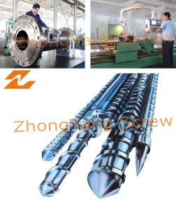 Conical Screw Barrel for Extruder pictures & photos