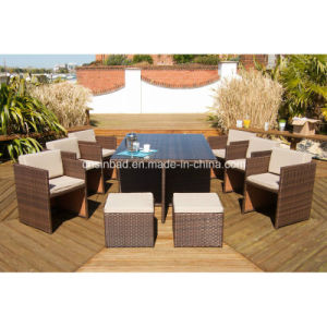 Rattan Dining Sets for Outdoor with Steel (602) pictures & photos
