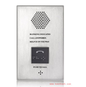Wall Mounted Push to Call Elevator Emergency Telephone pictures & photos