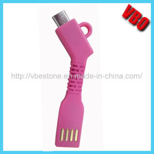 Wholesale Colorful Micro USB Cable for Smartphone Flexible Cables pictures & photos