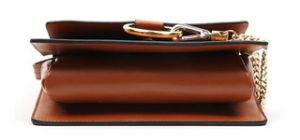 Designer Fashion Ring Chain Leather Bag Messenger Bag (LDO-01639) pictures & photos