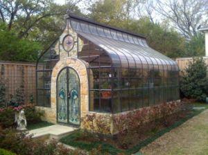 Cheap Price Aluminium Profile Quadrate Sun House (TS-603) pictures & photos