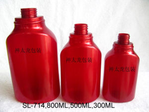 Pet Red Body Wash Lotion Shampoo Bottle pictures & photos
